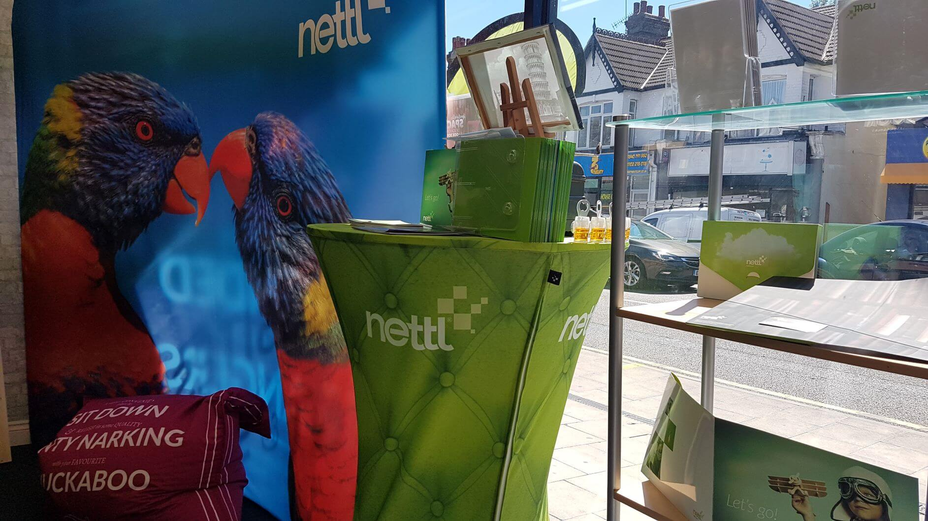 Nettl window