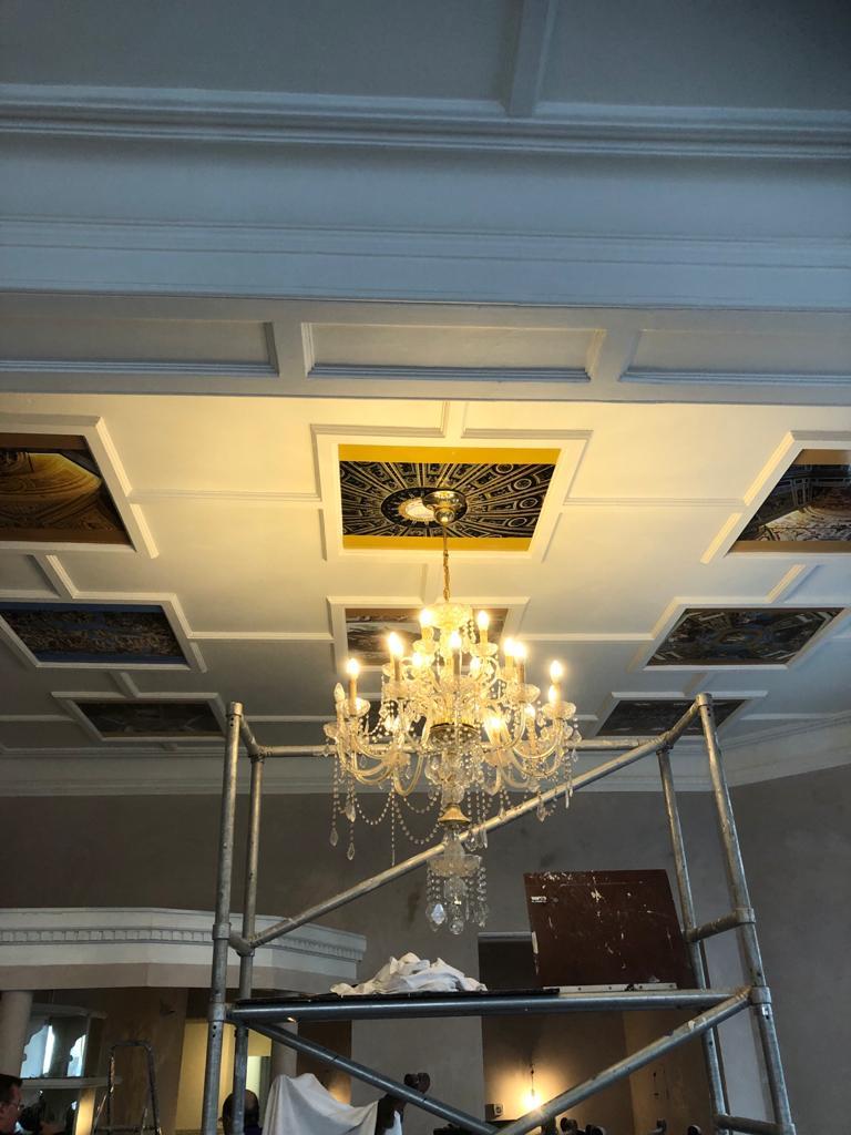 Basillica ceiling