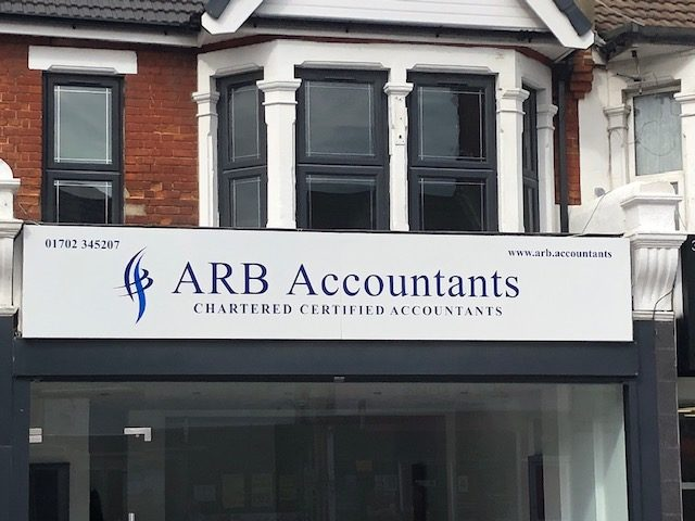 Arb sign fitted
