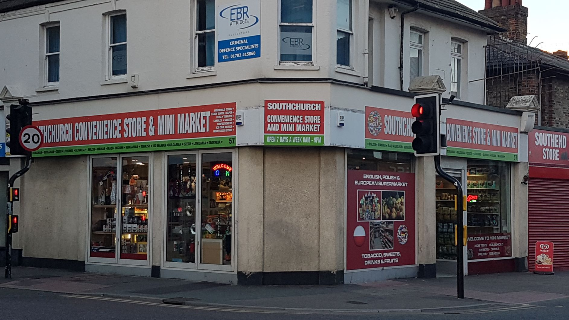 Southend Store sign