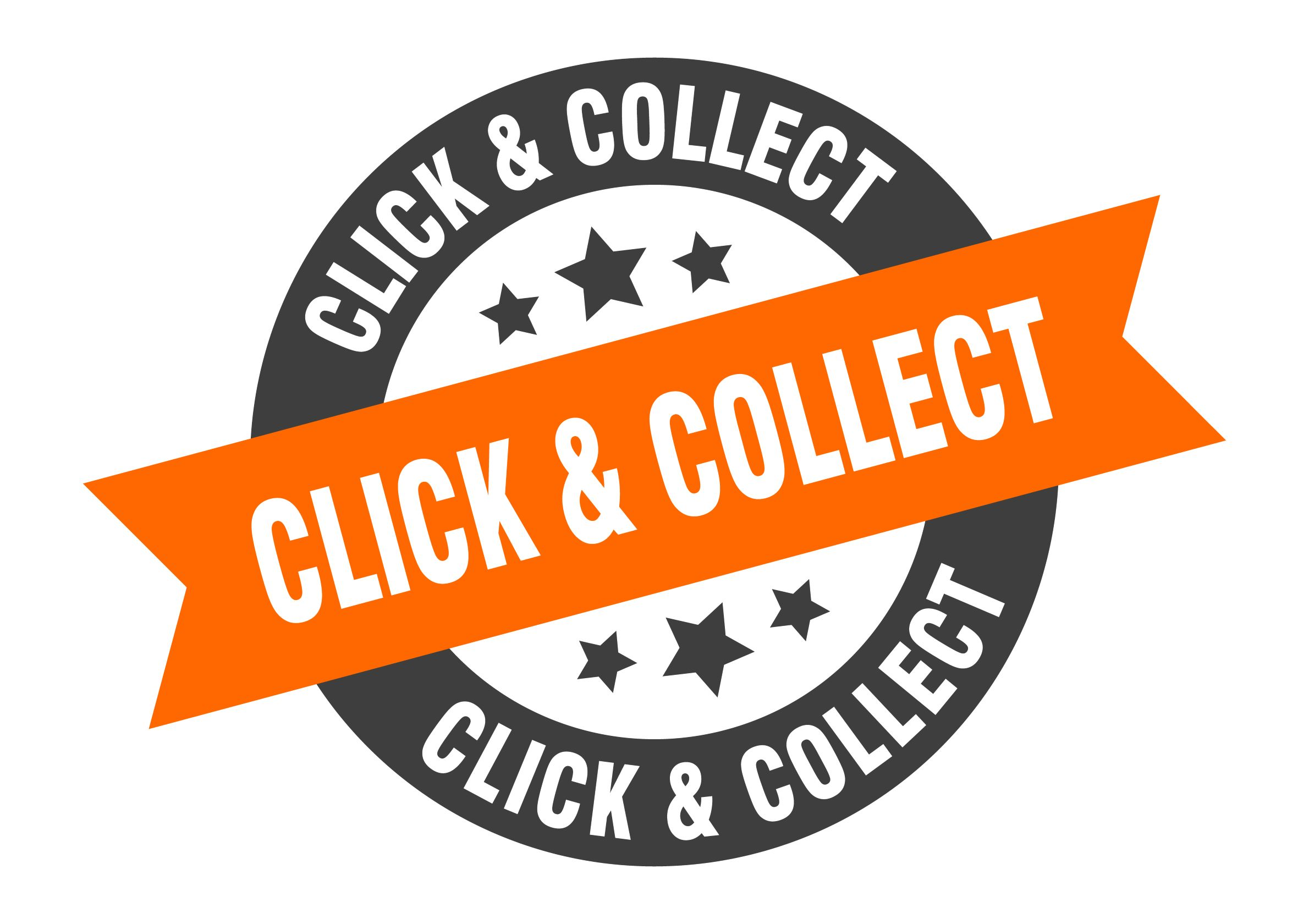 click & collect button