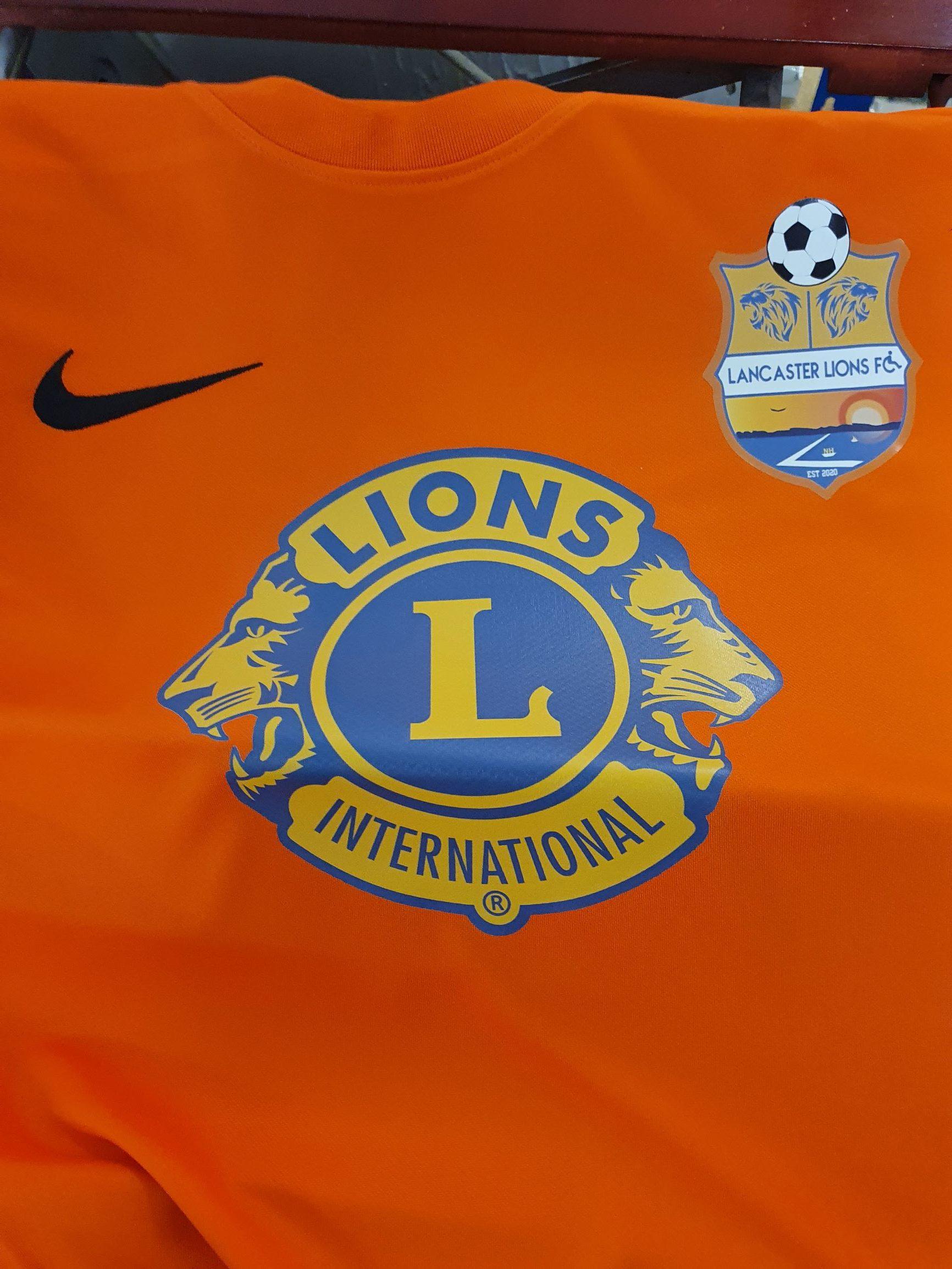 lions footie shirts