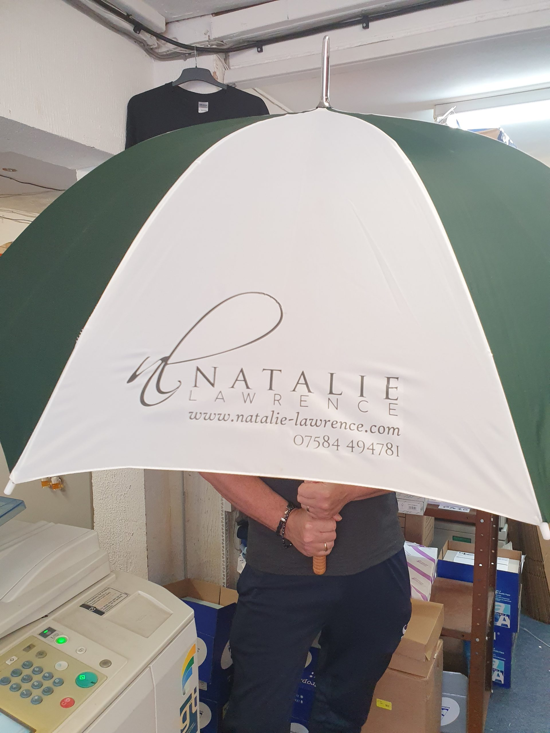 printed Brolly